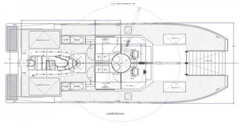 Lundin X18 Tank Boat: Kapal Serbu Catamaran dengan Meriam
