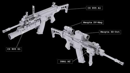 CZ805 Bren : Senapan Serbu dari Eropa Timur Bercitara Rasa NATO