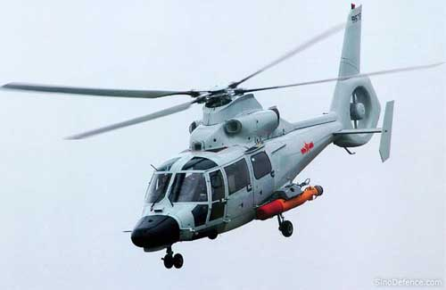 Harbin Z-9C siap beraksi.