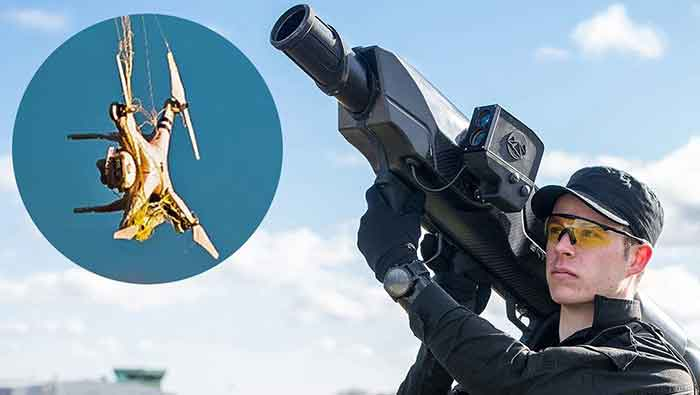 Skywall 100 : Si Pelumpuh Drone Pengintai