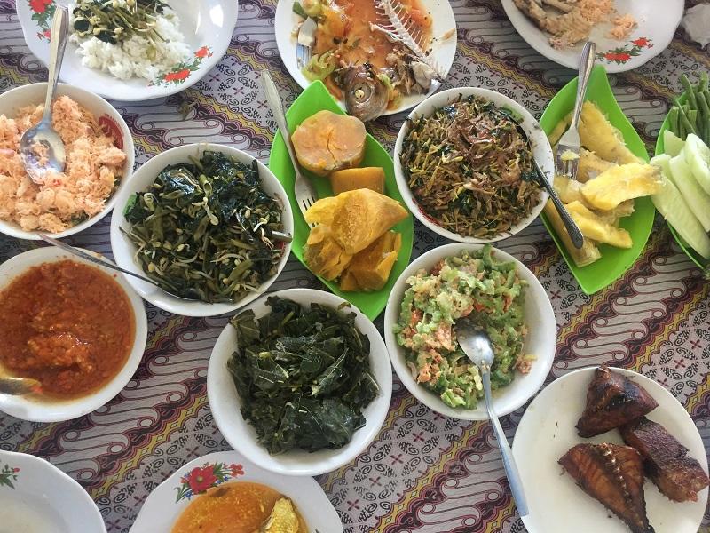 Makanan pengganti nasi Indonesia A-Z