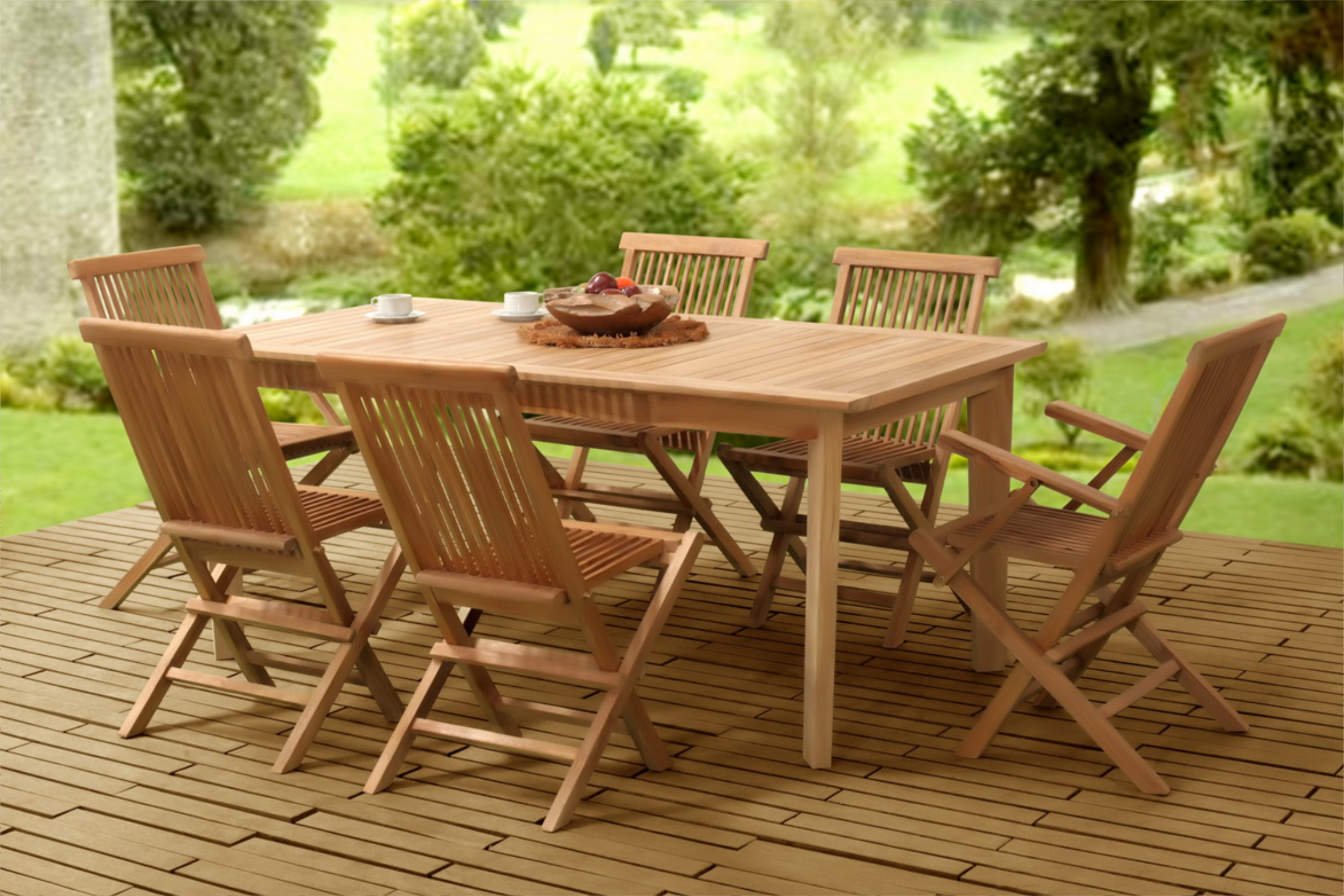 Collection Wooden Classic Folding Dining Set Indonesia Outdoor Furniture Manufacturer Wholesale And Project