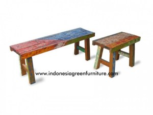 Apar Stool Set Indonesia Reclaimed Boat