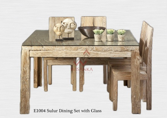 Industrial Reclaimed Wood Dining Table
