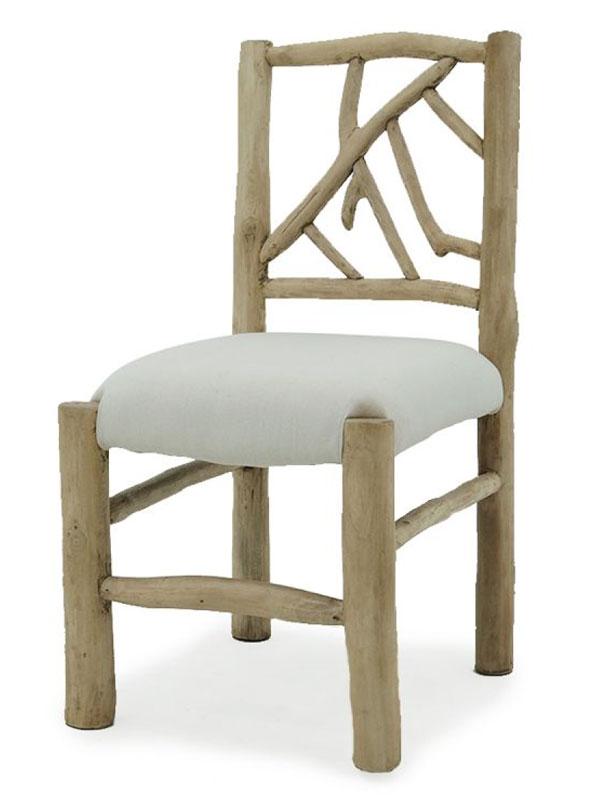 Poldi chair teak branch furniture