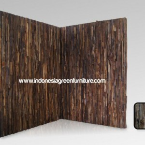 Reclaimed Teak Wall Panel