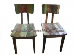 Sanaton dining chair Indonesia Reclaimed Boat