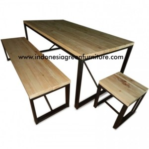 Scania Dining Table Reclaimed Pine