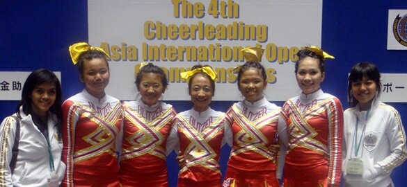 Cheerleading Asia International Open 2010