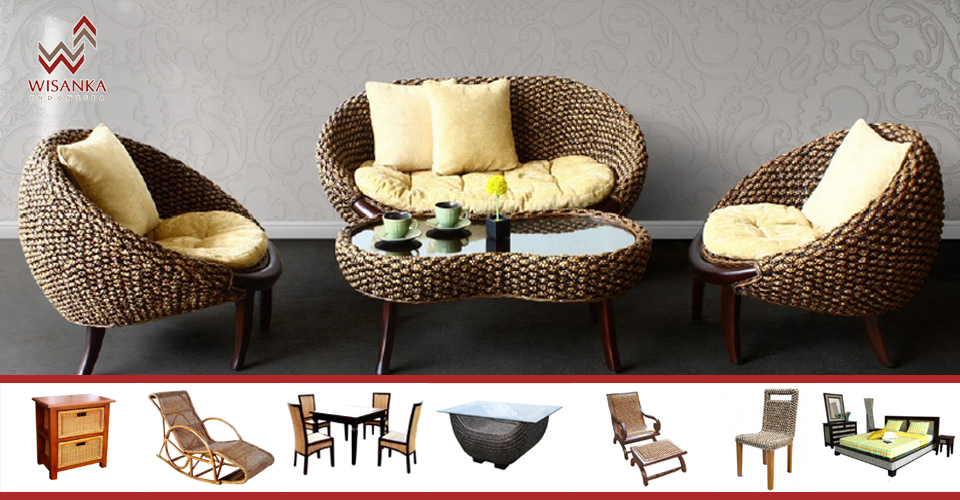 sea grass chairs collapsible beach indonesia rattan | furniture wholesale wicker