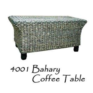Bahary Wicker Coffee Table