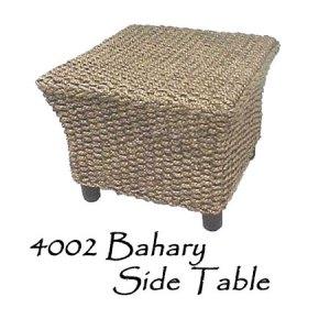 Bahary Wicker Side Table