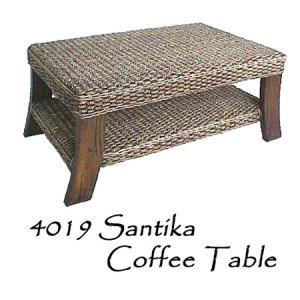 Santika Wicker Coffee Table