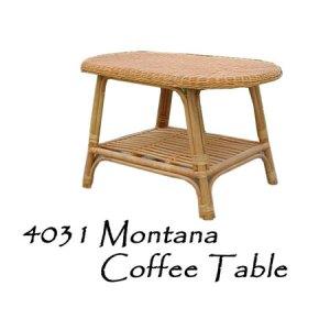 Montana Rattan Coffee Table