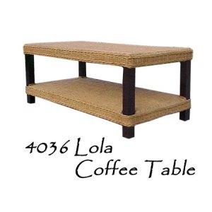 Lola Rattan Coffee Table