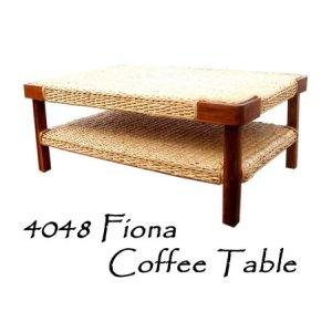Fiona Rattan Coffee Table