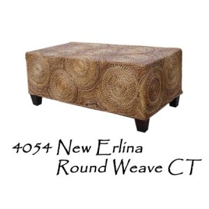 New Erlina Round Weave Table