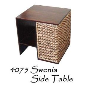 Swenia Wicker Side Table