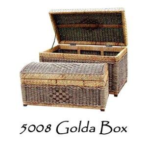 Golda Rattan Box