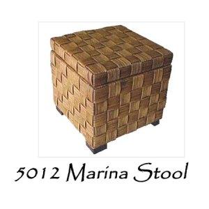 Marina Rattan Stool