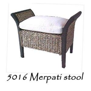 Merpati Wicker Stool