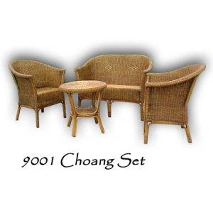 Choang Rattan Living Set