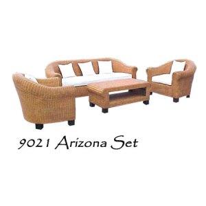 Arizona Wicker Living Set