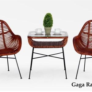 Gaga Rattan Terrace Set