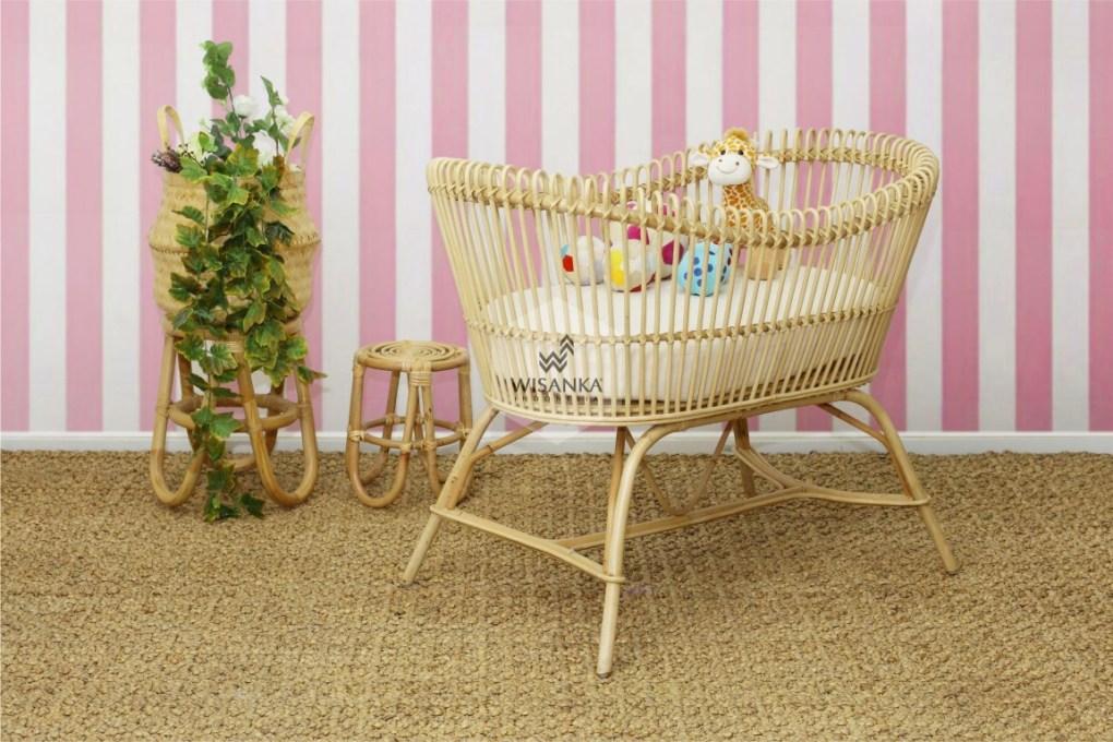 Rattan Baby Cribs