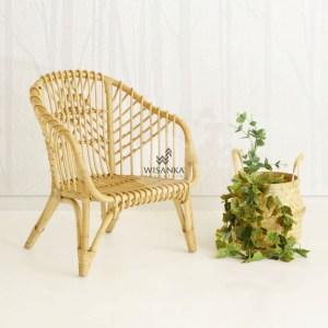 Hong Rattan Arm Chair