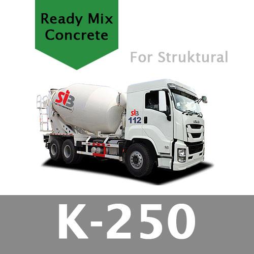 Harga Ready Mix K 250