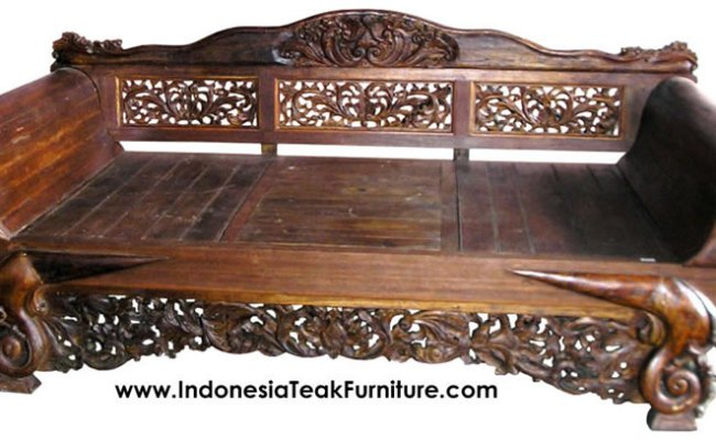 Indonesian Teak Daybed Ty23 Roccommunity