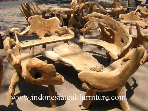 Teak Wood Garden Furniture From Indonesia 12 Teak Root