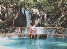 Air Terjun Mata Jitu Pulau Moyo indonesia traveller