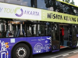 Bus Tingkat City Tour Wisata Keliling Jakarta - indonesia traveller id
