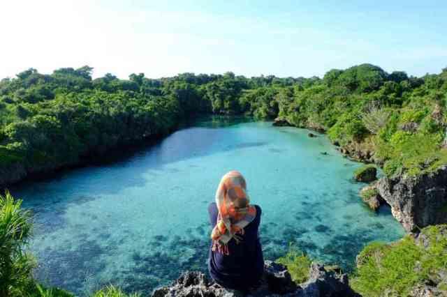 danau weekuri sumba nusa tenggara timur indonesia traveller - wisata nusa tenggara timur