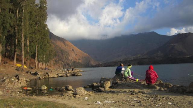 Rinjani Solo Travelling Explore Wisata Lombok, Indonesia traveller
