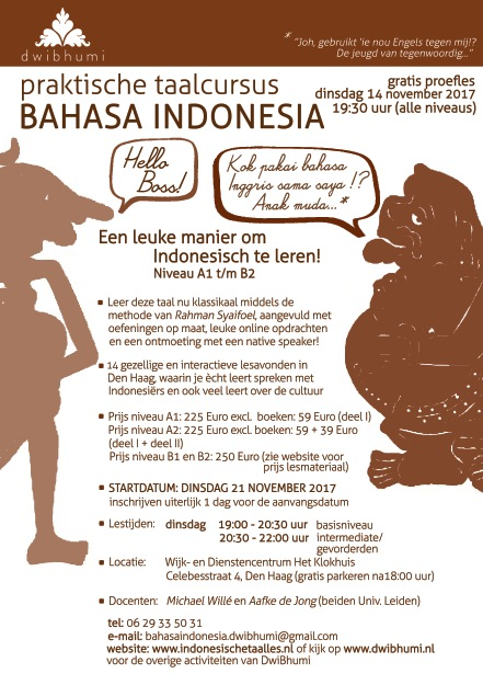cursus-bahasaindonesia-denhaag-dwibhumi-november2017