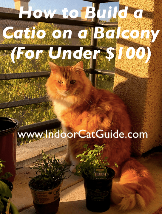 how to build a catio on a balcony