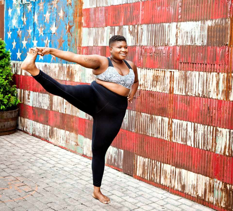 Jessamyn Stanley is a yoga teacher and author who is outspoken about the lack of diversity in studio culture. She says messaging is a large part of where studios fail prospective students. (Photo by Christine Hewitt)