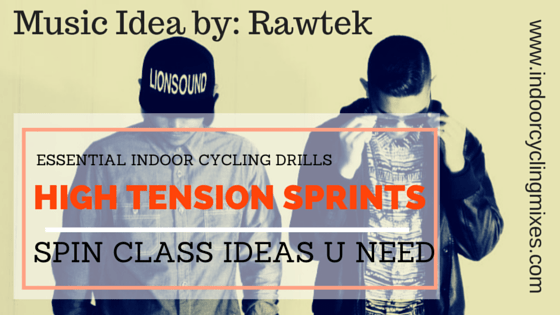 Indoor Cycling Class Ideas: High Tension Sprint Drill - Indoor