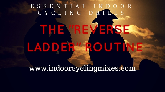 Indoor Cycling Drills - Reverse Ladder Routine