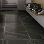 Black Color Decorative Wall Tiles Bed Room Simple Modern Carpet Tiles