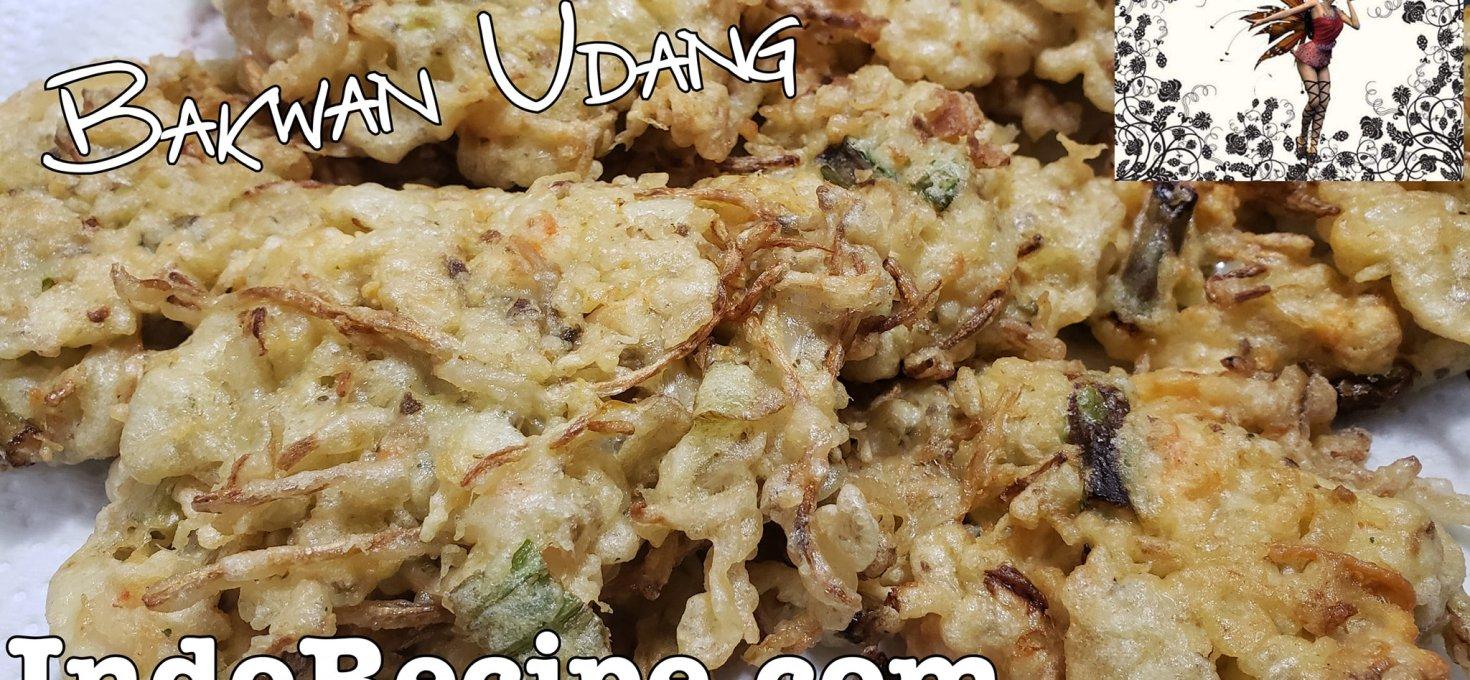 Bakwan Udang (Shrimp Fritters)