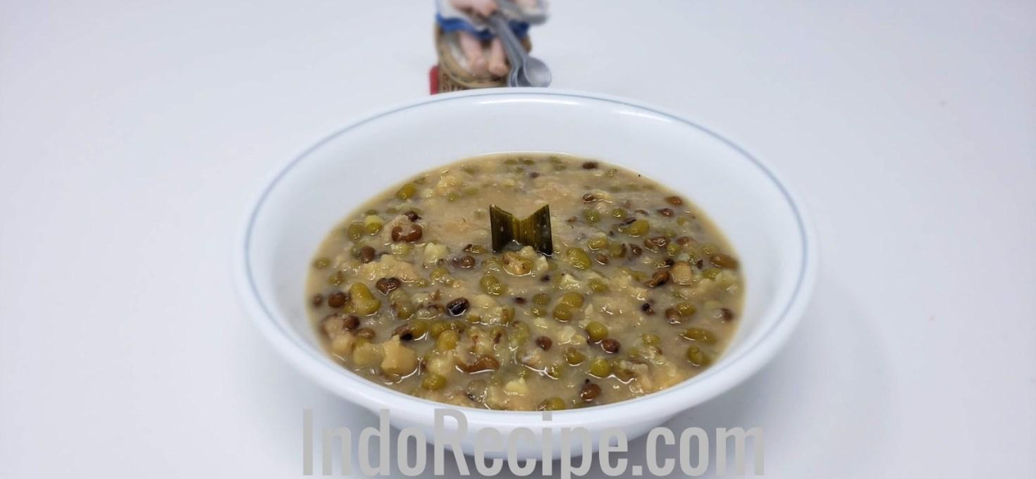 Mung Bean Porridge (Bubur Kacang Ijo)