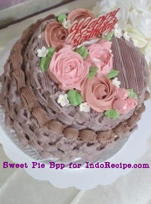 Surprise Money Cake (Buttercream Cream Sponge Cake)