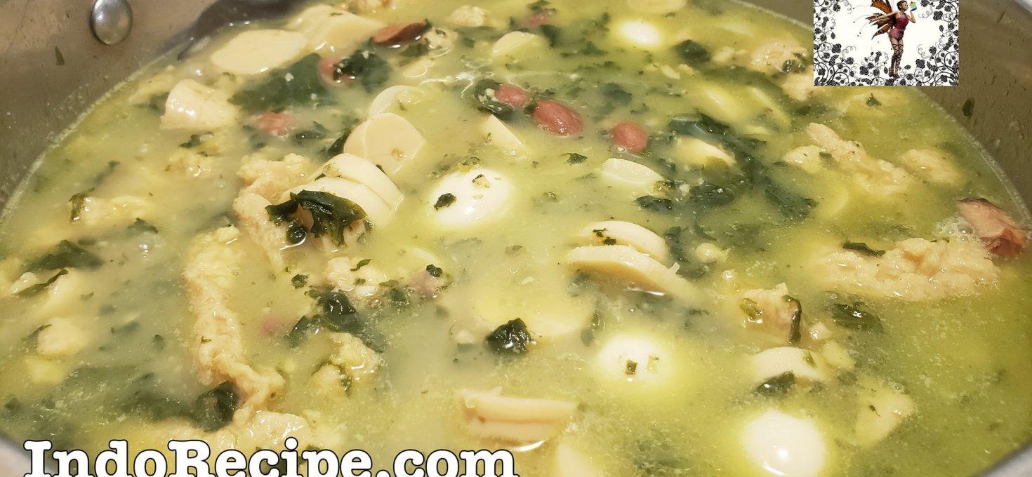 Sayur Rebung ala Kanada (Bambooshoot soup)