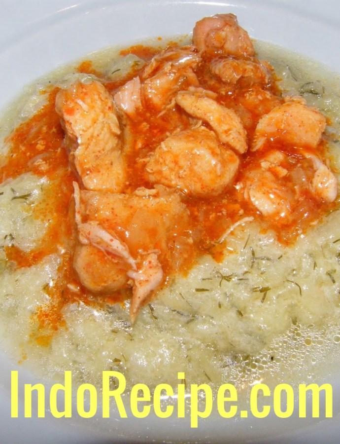 Tokfozelek (Hungarian Gourd Soup)