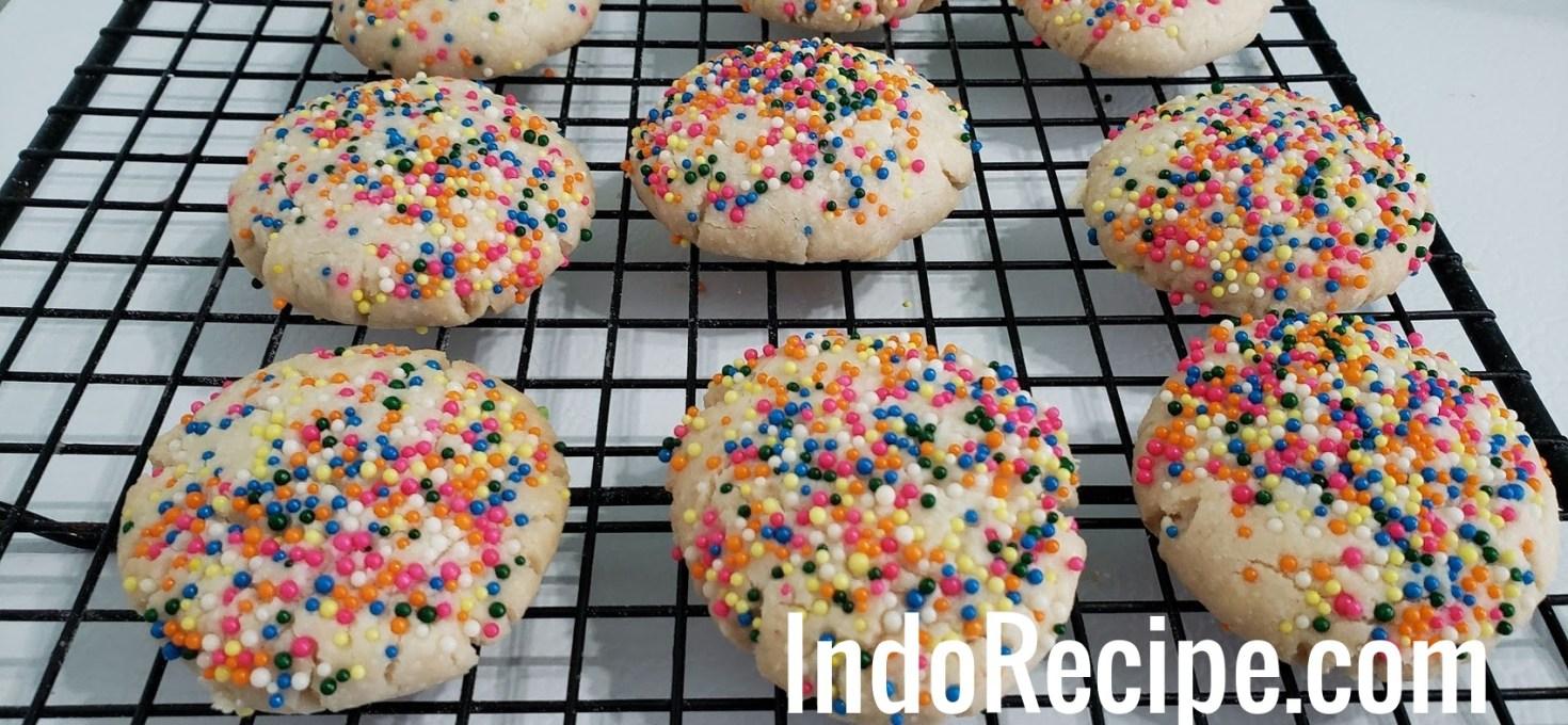 Galletas con Grageas (Mexican Cookies)