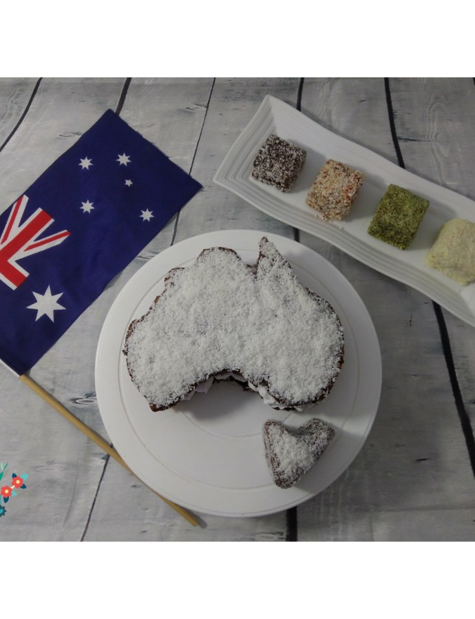 Me and Lamingtons 5: Kahlua Lamingtons, Australia Day, Birthday Celebration
